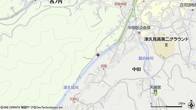 大分県津久見市津久見6569周辺の地図