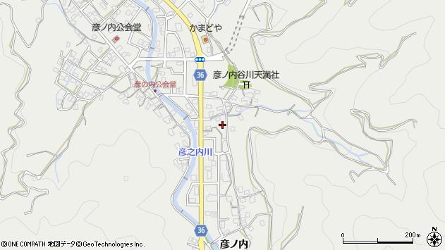 大分県津久見市津久見1276周辺の地図