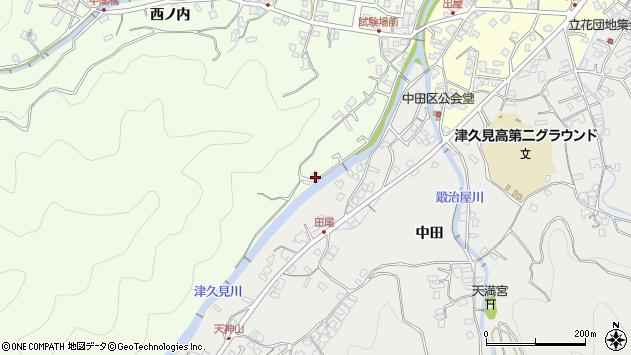 大分県津久見市津久見6568周辺の地図