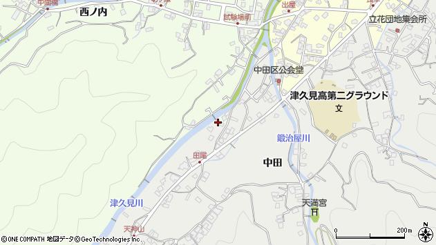 大分県津久見市津久見5883周辺の地図