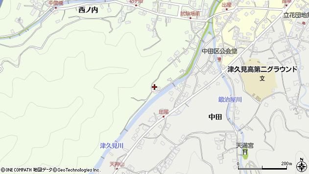 大分県津久見市津久見6570周辺の地図