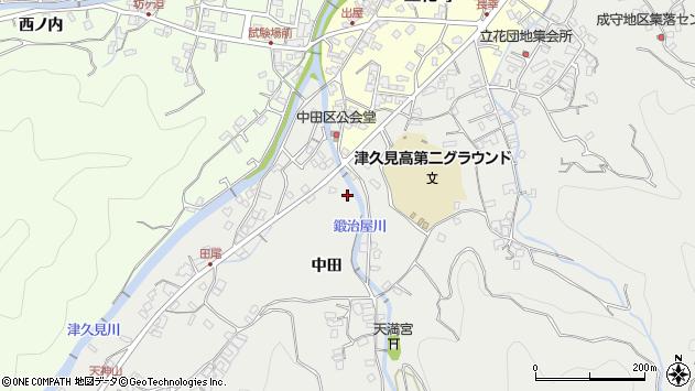 大分県津久見市津久見5554周辺の地図