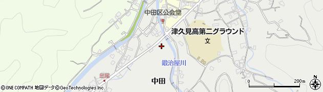 大分県津久見市津久見5551周辺の地図