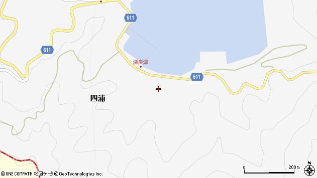 大分県津久見市四浦3201周辺の地図