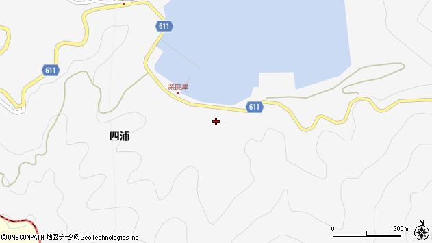 大分県津久見市四浦3200周辺の地図