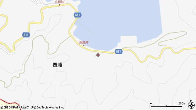 大分県津久見市四浦3180周辺の地図