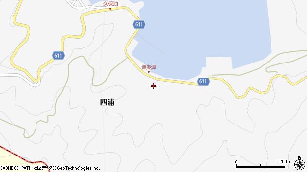 大分県津久見市四浦3177周辺の地図