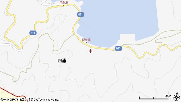 大分県津久見市四浦3176周辺の地図