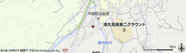 大分県津久見市津久見5567周辺の地図