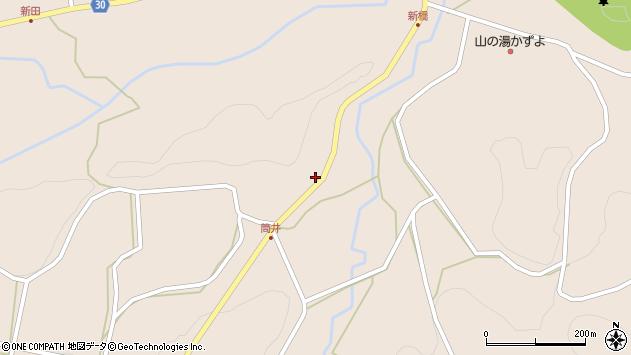 大分県竹田市直入町大字長湯621周辺の地図