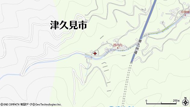 大分県津久見市津久見7836周辺の地図