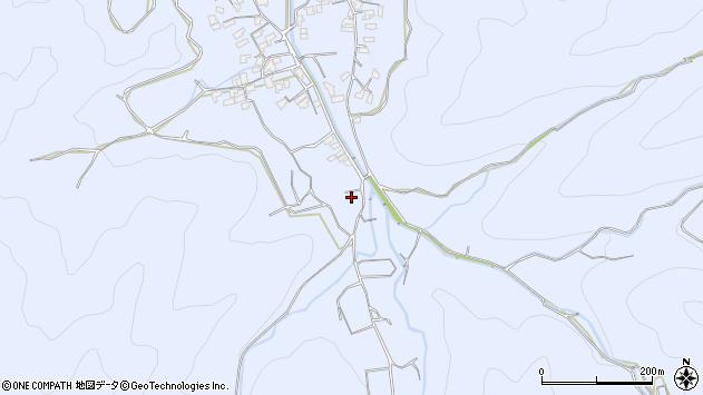 大分県津久見市千怒2097周辺の地図