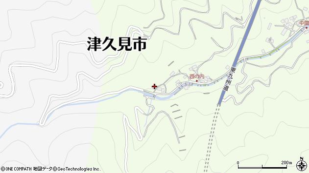 大分県津久見市津久見7830周辺の地図