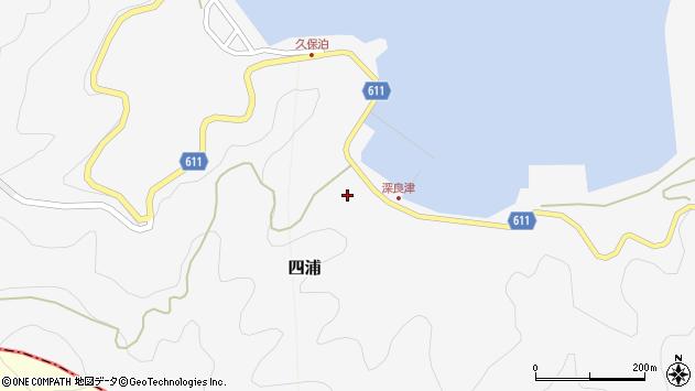 大分県津久見市四浦3067周辺の地図