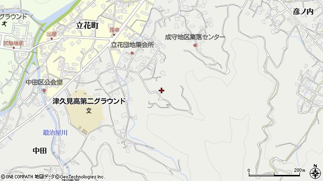 大分県津久見市津久見4173周辺の地図