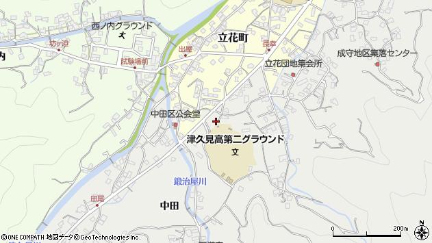 大分県津久見市津久見5016周辺の地図