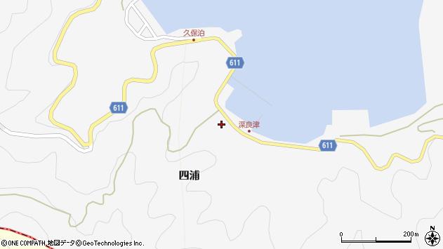 大分県津久見市四浦3059周辺の地図