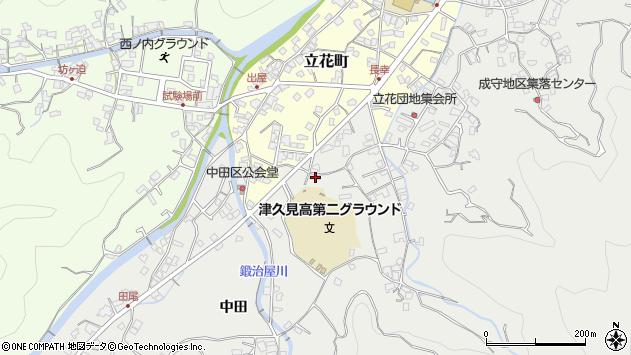 大分県津久見市津久見5013周辺の地図