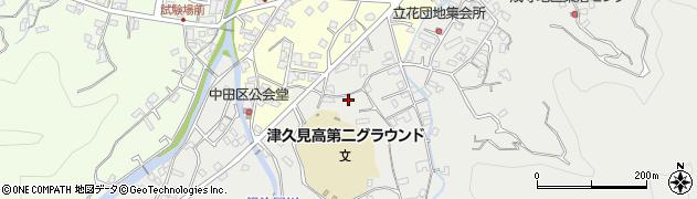 大分県津久見市津久見4886周辺の地図