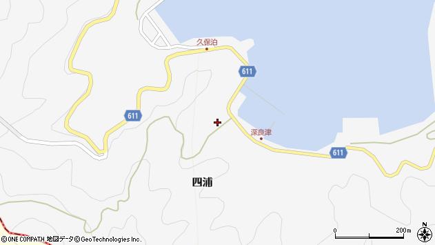 大分県津久見市四浦3043周辺の地図