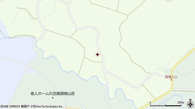 大分県竹田市久住町大字仏原144周辺の地図