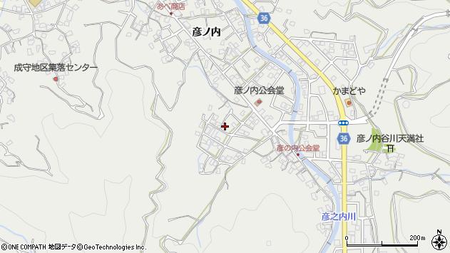 大分県津久見市津久見2116周辺の地図
