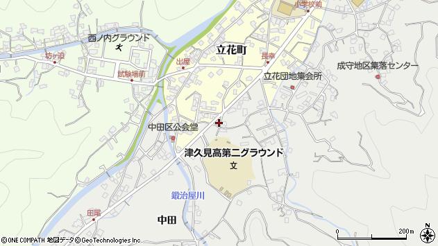 大分県津久見市津久見4501周辺の地図