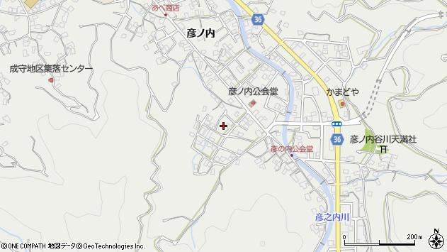 大分県津久見市津久見2115周辺の地図