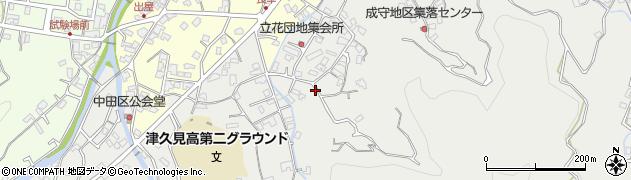 大分県津久見市津久見4263周辺の地図