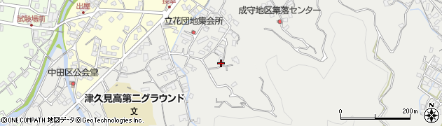 大分県津久見市津久見4216周辺の地図