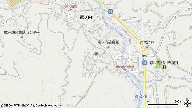 大分県津久見市津久見2107周辺の地図