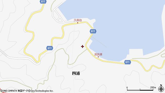 大分県津久見市四浦3039周辺の地図