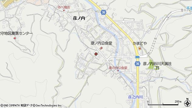 大分県津久見市津久見2103周辺の地図