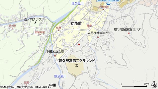 大分県津久見市津久見4556周辺の地図