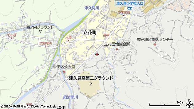 大分県津久見市津久見4569周辺の地図
