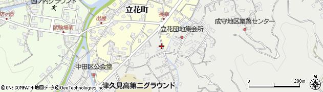 大分県津久見市津久見4588周辺の地図