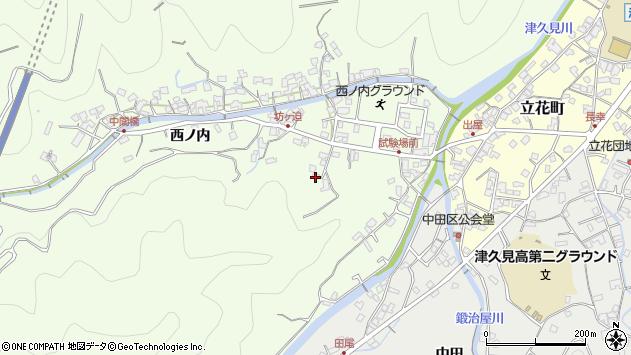 大分県津久見市津久見6912周辺の地図