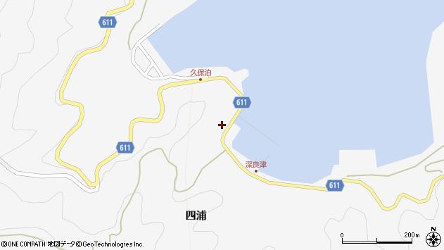 大分県津久見市四浦2994周辺の地図