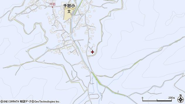 大分県津久見市千怒2667周辺の地図