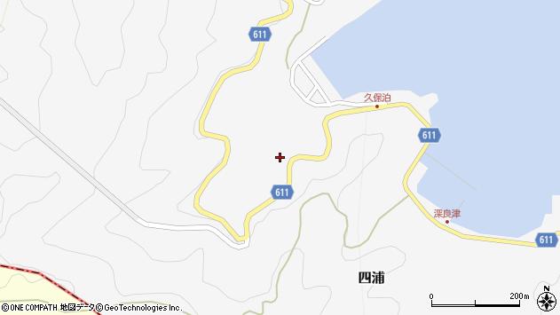 大分県津久見市四浦2839周辺の地図