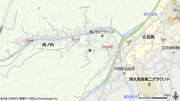 大分県津久見市津久見6685周辺の地図