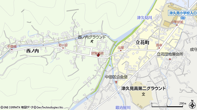 大分県津久見市津久見6733周辺の地図