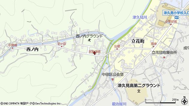 大分県津久見市津久見6728周辺の地図