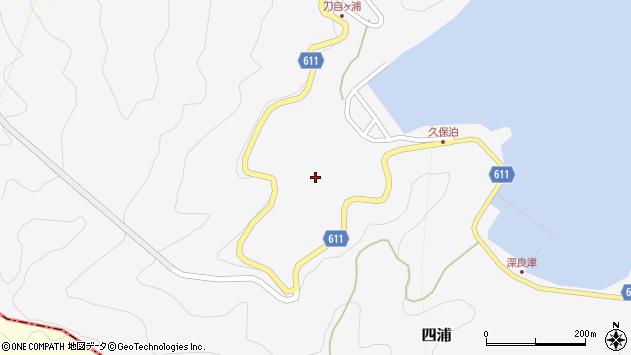 大分県津久見市四浦2921周辺の地図