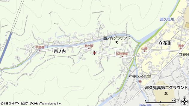 大分県津久見市津久見6889周辺の地図