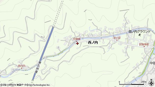 大分県津久見市津久見7091周辺の地図
