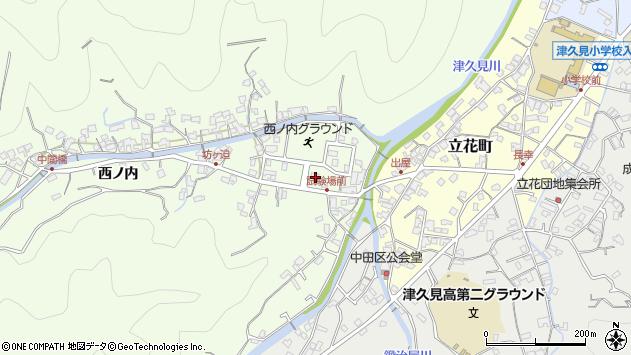 大分県津久見市津久見6726周辺の地図