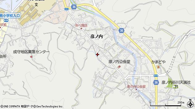 大分県津久見市津久見2157周辺の地図