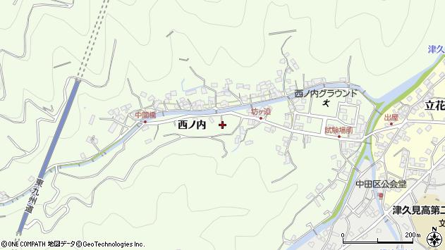 大分県津久見市津久見6971周辺の地図