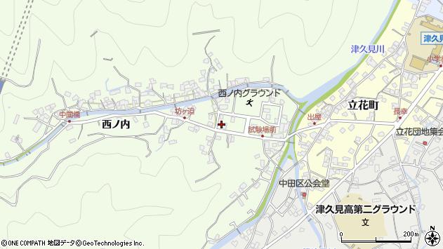 大分県津久見市津久見6697周辺の地図